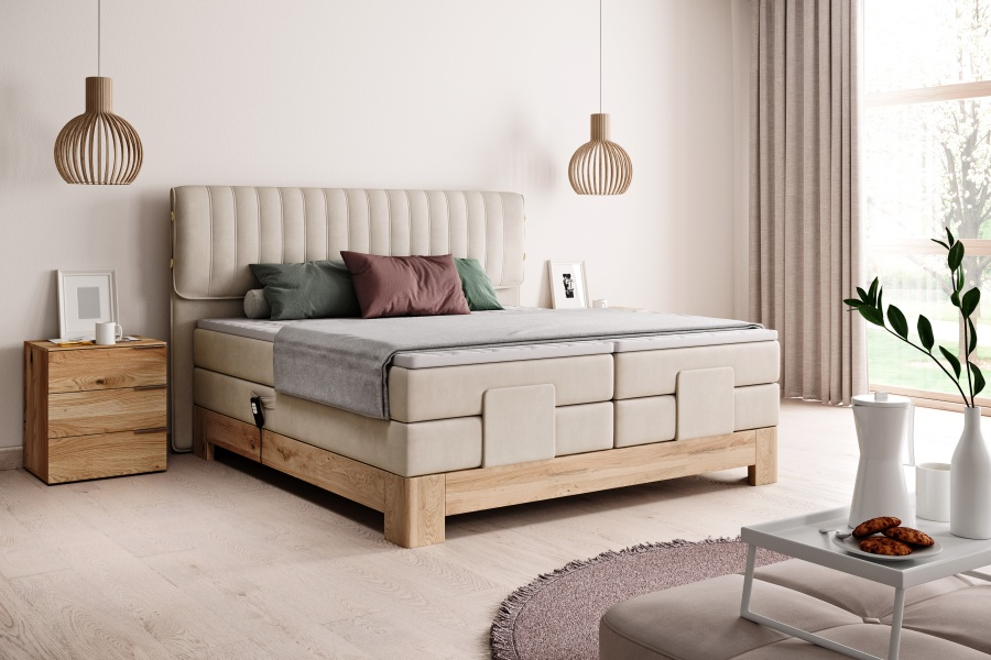 ELISSA 160 PAT BOXSPRING ELECTRIC