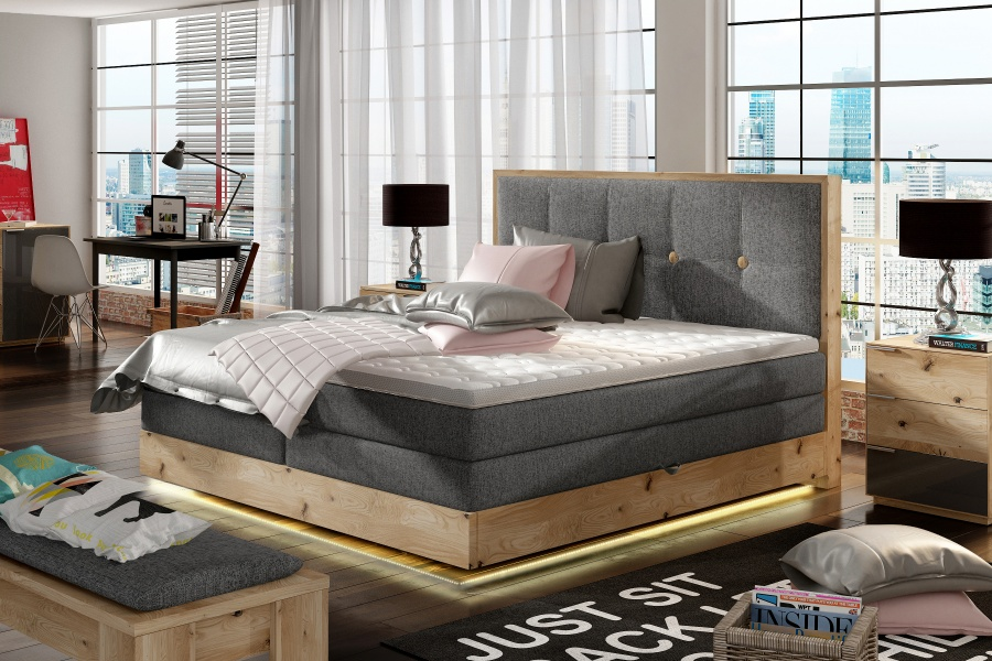 ETNO 160 LED PAT BOXSPRING
